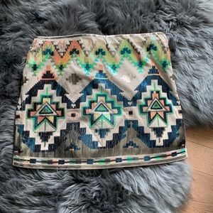 Express glitter ✨ mini skirt